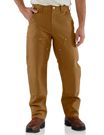 CARHARTT FIRM DUCK DOUBLE-FRONT WORK DUNGAREE B01