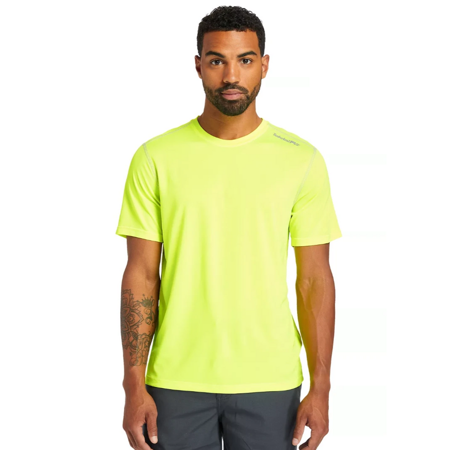 TIMBERLAND PRO WICKING GOOD SPORT SHORT SLEEVE T-SHIRT A1P1Z