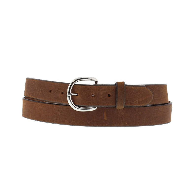 TONY LAMA BLUE LIGHT WESTERN BELT BROWN K1209