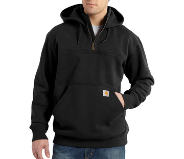 CARHARTT RAIN DEFENDER PAXTON HEAVYWEIGHT HOODED ZIP MOCK SWEATSHIRT 100617