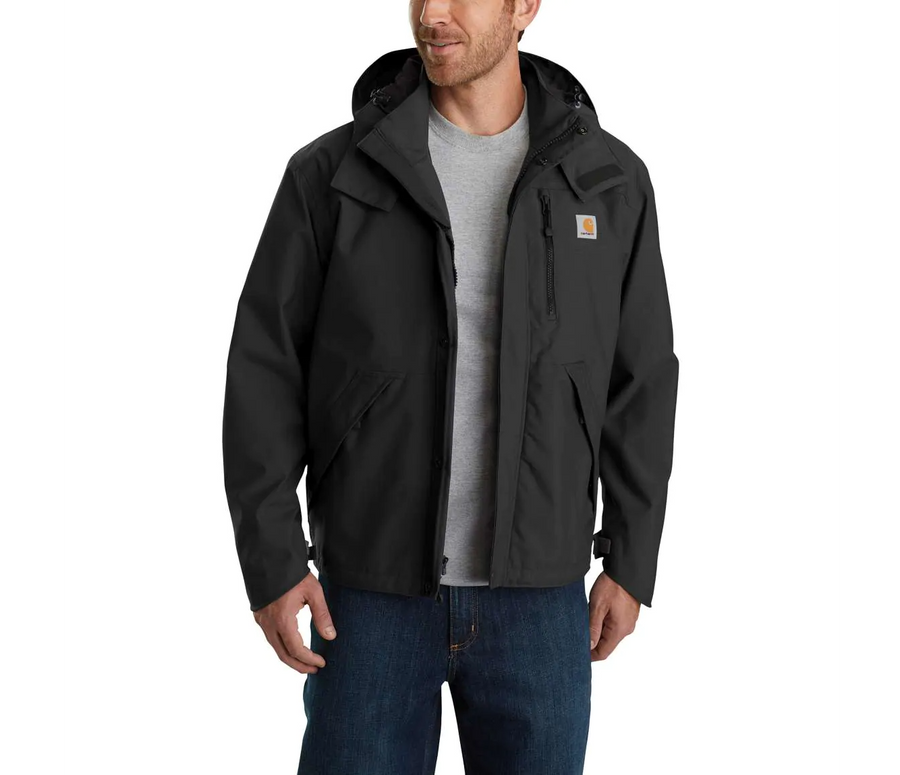 CARHARTT SHORELINE WATERPROOF BREATHABLE JACKET J162