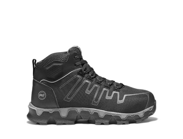 TIMBERLAND PRO POWERTRAIN MID ALLOY TOE EH WORK SHOES A1JYQ