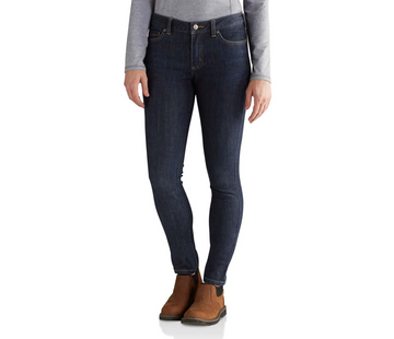 CARHARTT WOMEN'S RUGGED FLEX SLIM-FIT LAYTON SKINNY LEG JEAN 102734