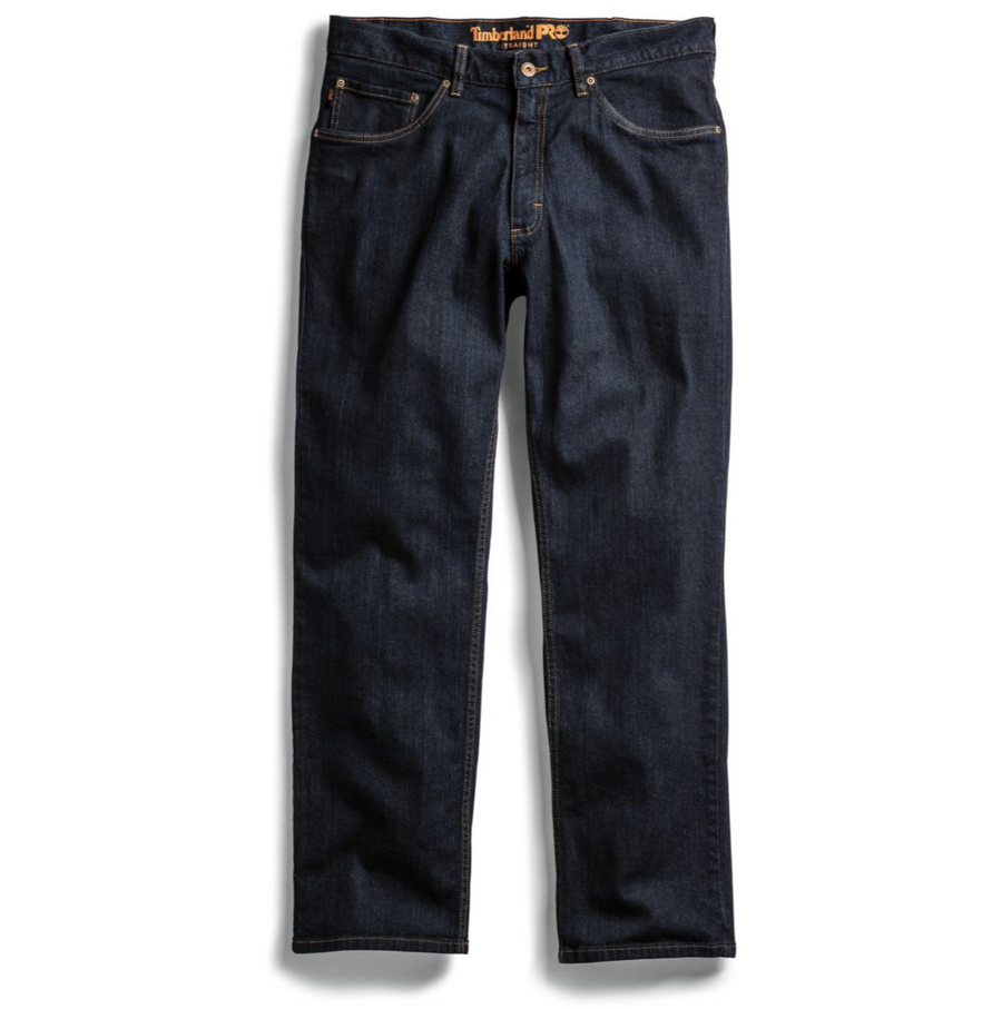 TIMBERLAND PRO GRIT-N-GRIND STRAIGHT FIT FLEX DENIM WORK PANT A1V55