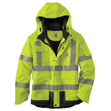 CARHARTT HIGH-VISIBILITY CLASS 3 SHERWOOD JACKET 100787