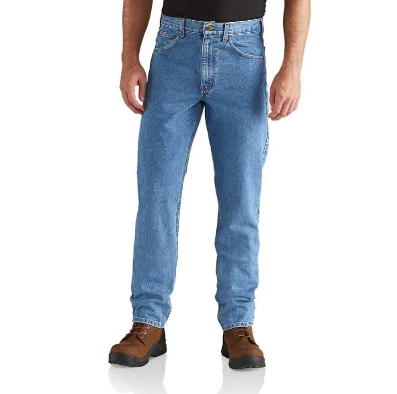 CARHARTT STRAIGHT/TRADITIONAL-FIT TAPERED-LEG JEAN B18