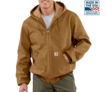 CARHARTT DUCK THERMAL-LINED ACTIVE JAC J131