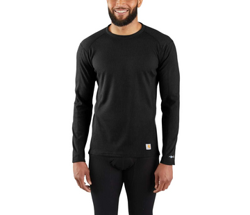 CARHARTT BASE FORCE MIDWEIGHT CLASSIC CREW BLACK MBL113