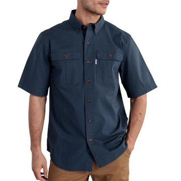 CARHARTT FOREMAN SOLID SHORT SLEEVE WORK SHIRT 101555