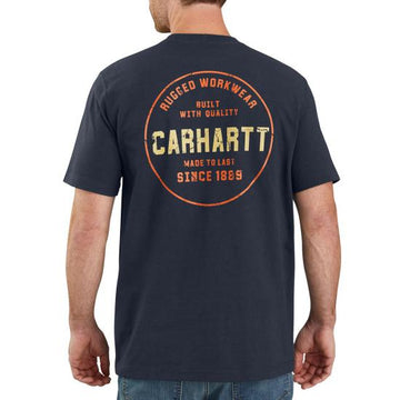 CARHARTT RELAXED FIT HEAVYWEIGHT RUGGED GRAPHIC T-SHIRT 104178
