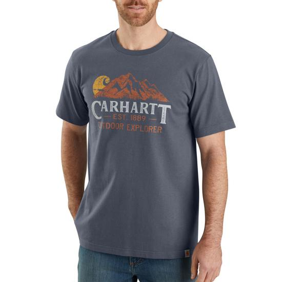 CARHARTT RELAXED FIT OUTDOOR EXPLORER SS GRAPHIC T-SHIRT 104183