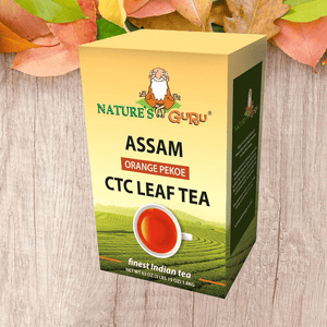 Assam Black Tea Orange Pekoe I CTC Loose Tea I Nature's Guru I 4 lbs