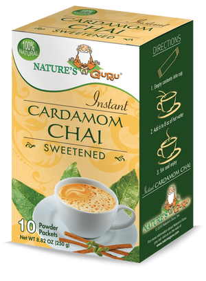 Cardamom Chai Latte Instant Tea Mix I Nature's Guru