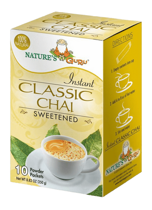 Classic Chai Latte Instant Tea Mix I Nature's Guru I Sweetened