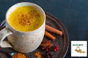 Turmeric Latte Instant Golden Milk I Nature's Guru