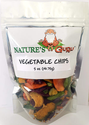 Vegetable Chips I Nature's Guru I 5 oz Bag