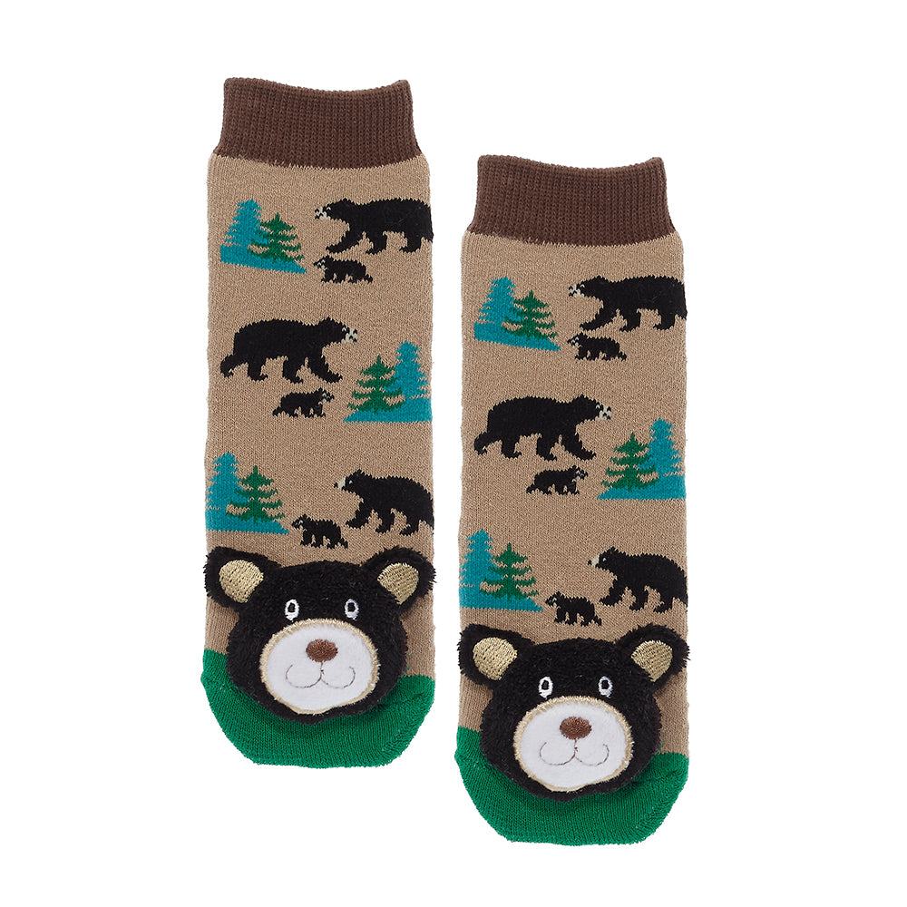 Baby Socks - Black Bear