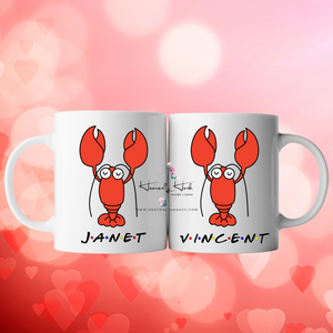 "Custom ""I Found My Lobster"" Ceramic Mug"