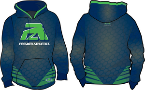 PA HONEYCOMB - NAVY & NEON GREEN
