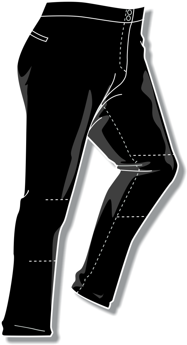 PA-4000 Solid Womens Softball Pants