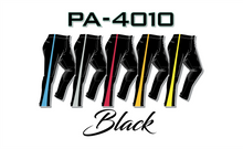 Load image into Gallery viewer, PA-4010 Black Women Softball Pants with Panel