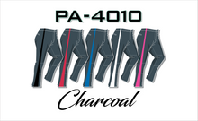 Load image into Gallery viewer, PA-4010 Charcoal Women Softball Pants with Panel