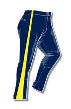 Load image into Gallery viewer, PA-4010 Navy Women Softball Pants with Panel