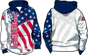 PREMIER USA FLAG - RED, WHITE, & BLUE