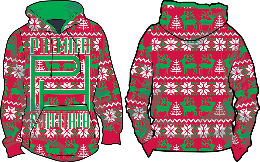 PA Reindeer Ugly Sweater - Red/Green