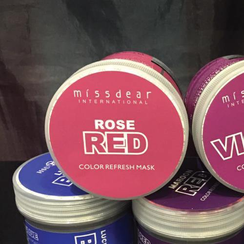 MISSDEAR Rose Red Hair Mask