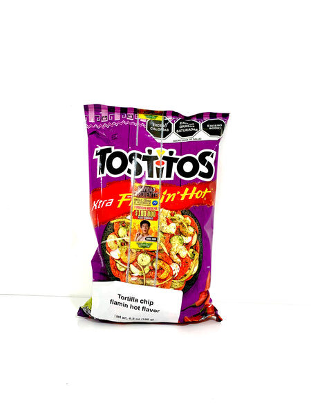 Tostitos Xtra Flaming Hot Mexican