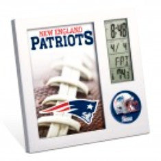 New England Patriots Deck Clock and Calendar - Sports Nut Emporium
