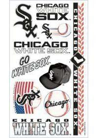 Chicago White Sox temporary tattoos - Sports Nut Emporium