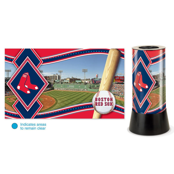 Boston Red Sox Rotating Lamp - Sports Nut Emporium