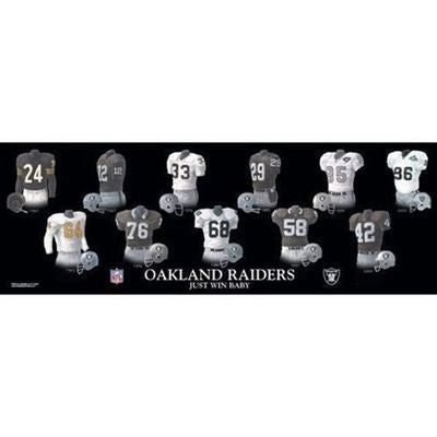 Oakland Raiders plaque - Sports Nut Emporium