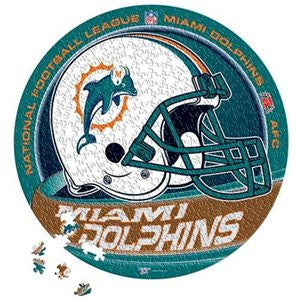 Miami Dolphins puzzle tin - Sports Nut Emporium