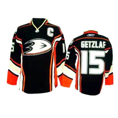 Ryan Getzlaf  Anaheim Ducks # 15 Stitched Black Third NHL Jersey - Sports Nut Emporium