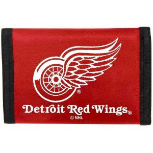 Detroit Red wings nylon wallet - Sports Nut Emporium