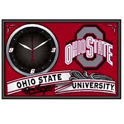 Ohio State Buckeyes framed clock - Sports Nut Emporium