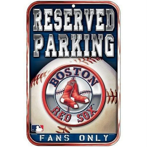 Boston Red Sox parking sign - Sports Nut Emporium