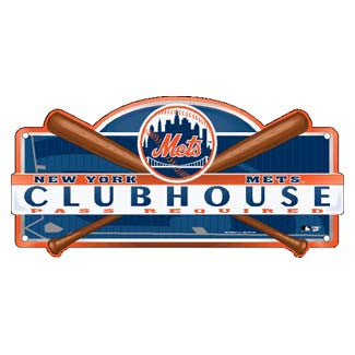 New York Mets clubhouse sign - Sports Nut Emporium