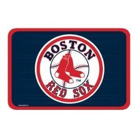 "Boston Red Sox 20x30"" oval welcome   mat - Sports Nut Emporium"