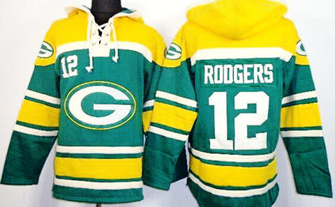 timeless design b6926 f59f4 green bay packers throwback sweatshirt