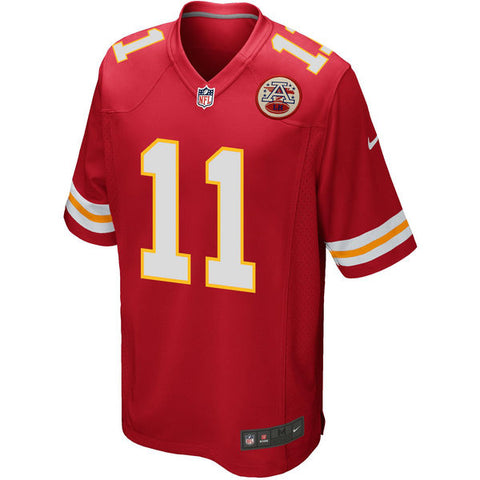 Alex Smith Kansas City Chiefs Men's  Nike Red Game Jersey - Sports Nut Emporium