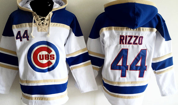 Anthony Rizzo Chicago Cubs pullover Hoodie – Sports Nut Emporium 07c35e62a93