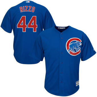 Anthony Rizzo Chicago Cubs Mens Blue jersey - Sports Nut Emporium