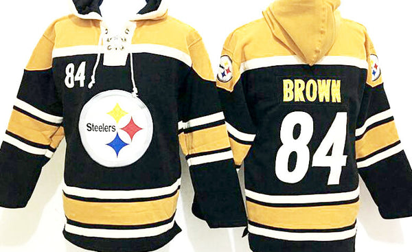 best loved f7b03 3bbe3 Antonio Brown Pittsburgh Steelers pullover Hoodie