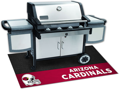 Arizona Cardinals Barbecue Grill Mat - Sports Nut Emporium