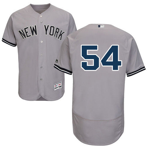 Aroldis Chapman New York Yankees Grey Jersey - Sports Nut Emporium