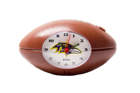Baltimore Ravens NFL alarm clock - Sports Nut Emporium